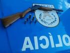 Polícia apreende armas no Norte e Noroeste durante operação