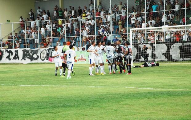 CSP x Botafogo-PB, Campeonato Paraibano 2013 (Foto: Lucas Barros / Globoesporte.com/pb)