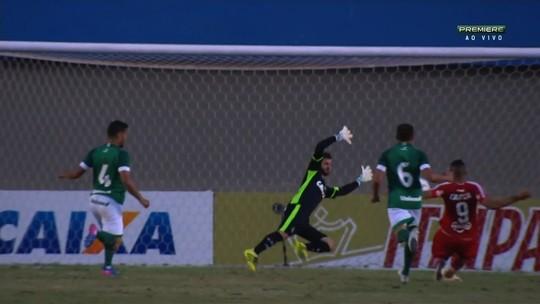 Goiás joga bem, atropela o CRB por 3 a 0 e confirma reação com Argel Fucks