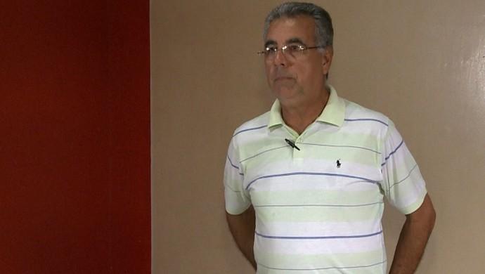 Illimani Suares, presidente do Rio Branco (Foto: Reprodução/TV Acre)