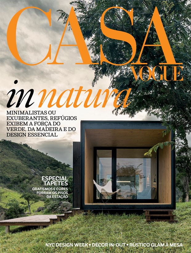 Casa Vogue é finalista da melhor capa do ano! (Foto: Leonardo Finotti)