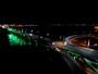 Ponte em São Luís ganha iluminação em homenagem a Chapecoense