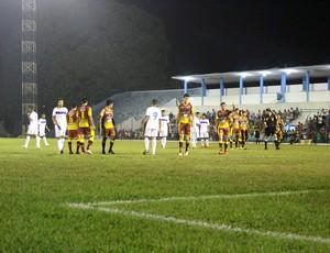 Genus e Atlético Acreano (Foto: Renato Pereira)