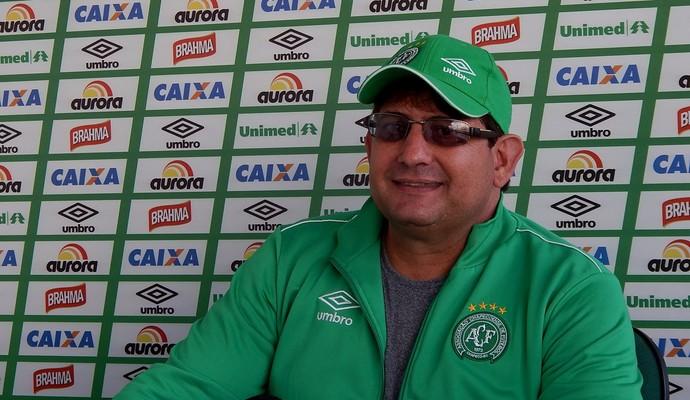 Guto Ferreira Chapecoense (Foto: Laion Espíndula )