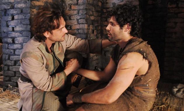 'O Rico e Lázaro': audiência menor que a de 'A Terra Prometida' (Munir Chatack/ Record)
