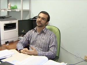 Leonardo Brito, titular da 2ª Delegacia de Polícia de Macapá (Foto: Reprodução/TV Amapá)