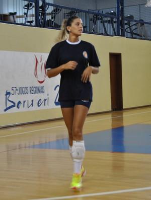 Mari Paraíba treino Barueri (Foto: João Gabriel Rodrigues)