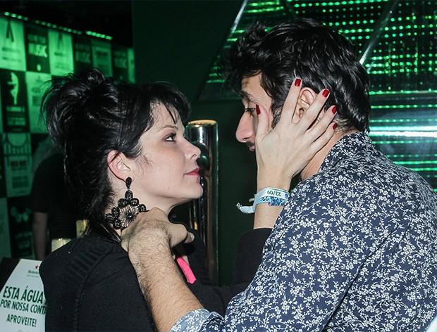 Samara Felippo e Elidio Sanna (Foto: AgNews)