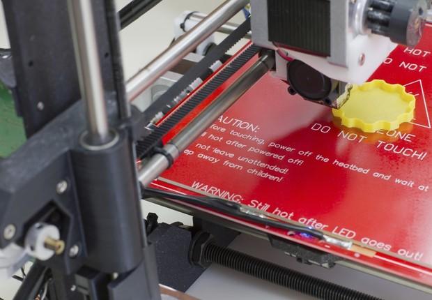 Impressora 3D (Foto: Thinkstock)