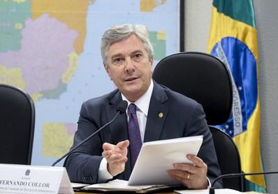 Fernando Collor também criticou a atuação do TCU na fiscalização de obras (Foto: Agência Senado)