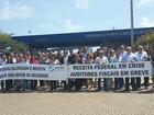 Auditores fiscais paralisam atividades nas três aduanas do Ceará