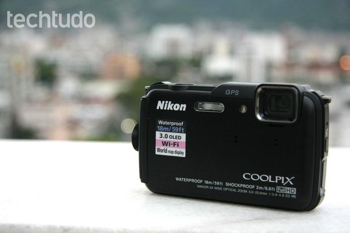 Coolpix AW110 (Foto: Luciana Maline/TechTudo)