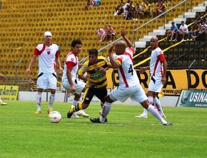 Novorizontino x Flamengo-SP - Série A3 (Foto: Wiliam Brás de Lima/Novorizontino)