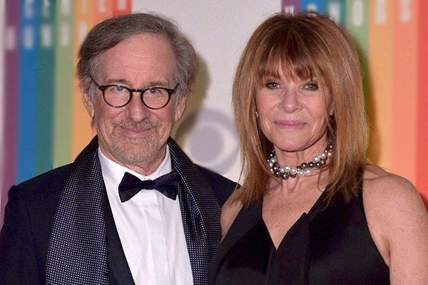 Steven Spielberg e Kate Capshaw (Foto: Getty Images)