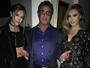 Sylvester Stallone posa com filhas gatas e brinca: 'Crescendo rápido'