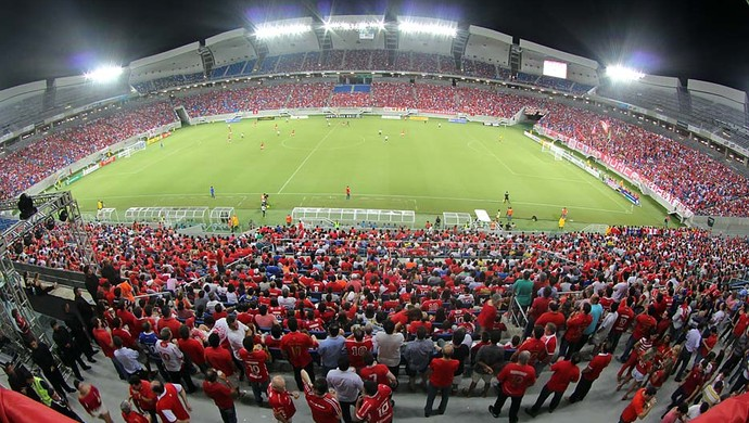 Arena das Dunas - América-RN (Foto: Canindé Soares)