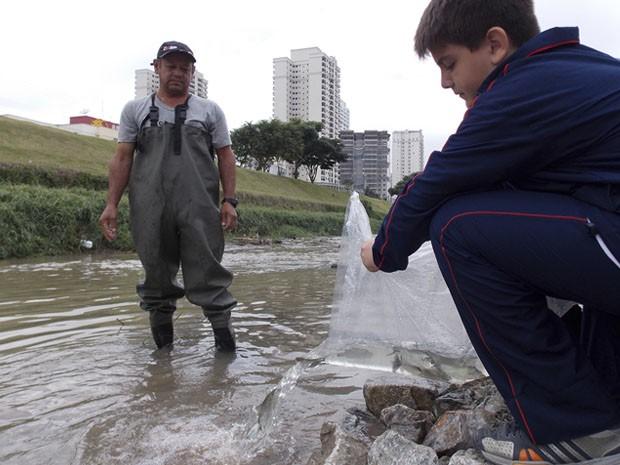 peixes são josé (Foto: Daniel Corrá/G1)