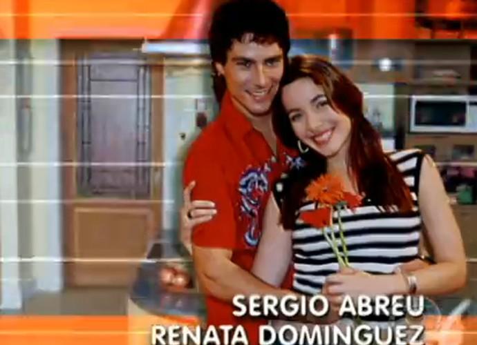 Renata na abertura de Malhação 2003 (Foto: Reprodução)