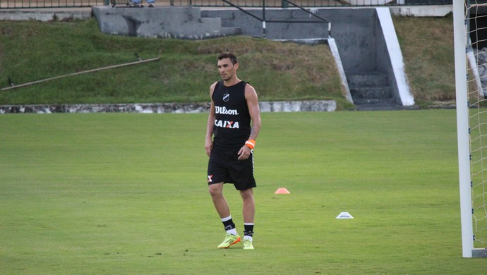 Suéliton zagueiro do ABC (Foto: Jocaff Souza/GloboEsporte.com)