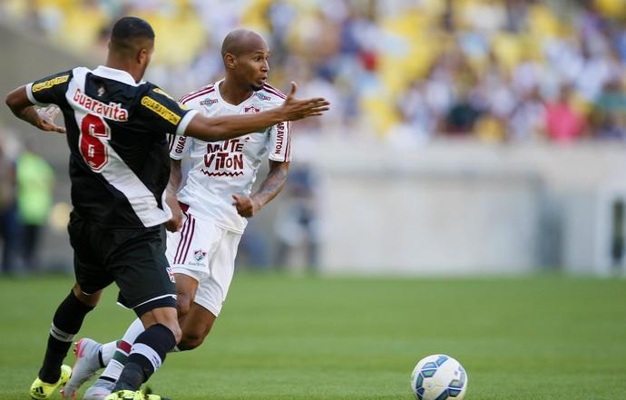 Christianno e Wellington Silva Fluminense x Vasco (Foto: Marcelo de Jesus / GloboEsporte.com)