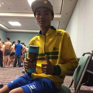 Venilton Torres garante segundo bronze do Brasil no mundial de taekwondo (Foto: Reprodução/Facebook)