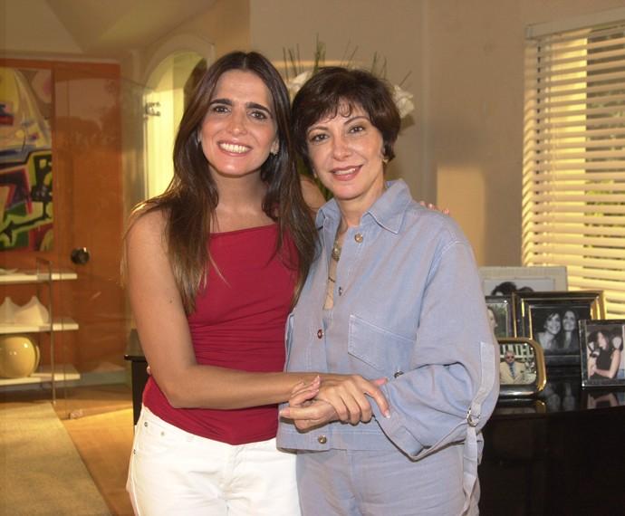 Marília Pêra atuou com Malu Mader em Celebridade (Foto: Cedoc / TV Globo)