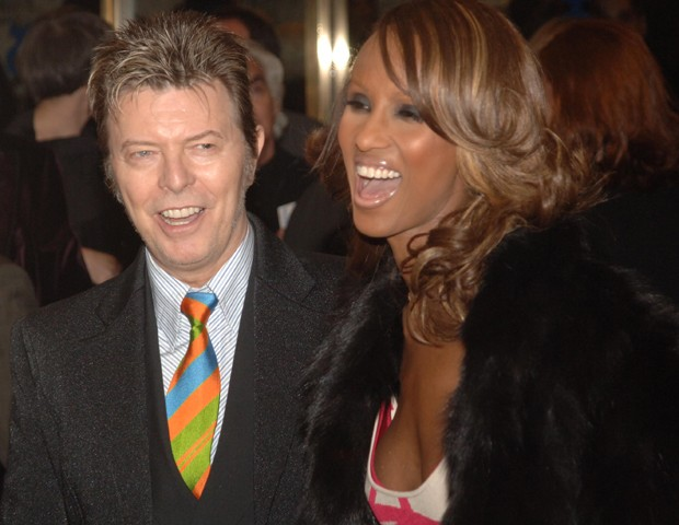 David Bowie e Iman (Foto: Brad Barket/Getty Images)