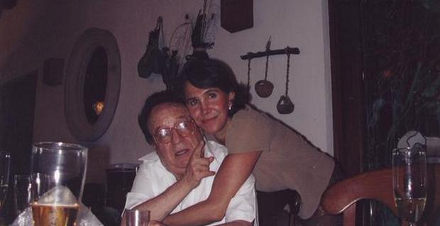 Roberto Bolaños e Florinda Meza  (Foto: Reprodução / Twitter)