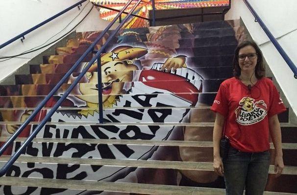 Luciana Porto, da Êxito Eventos (Foto: Divulgação/ TV Sergipe)