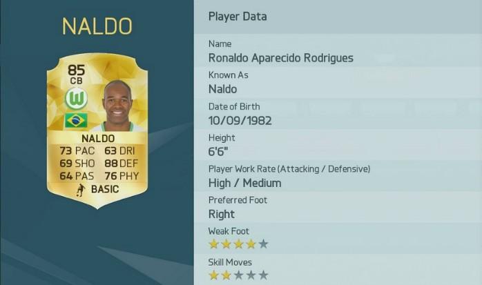 Naldo Fifa 16