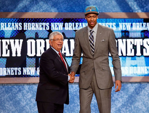 Anthony Davis, NBA, Draft (Foto: Agência Reuters)