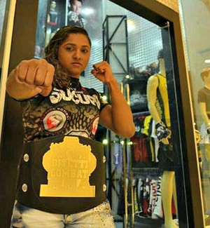 Viviane Sucuri (Foto: Osteval Tavares/TV FIGHT)