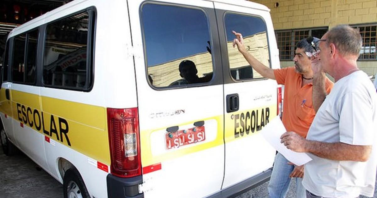 Vans escolares devem renovar alvará até fevereiro em Rio Preto, SP - Globo.com