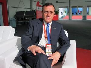 Ignacio Sánchez é reitor da PUC do Chile (Foto: Vanessa Fajardo/ G1)