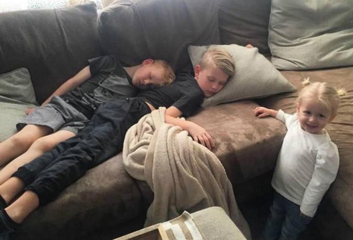 Filhos de Casey Patterson, dos EUA (Foto: Reprodução / Alexis Patterson / Instagram)