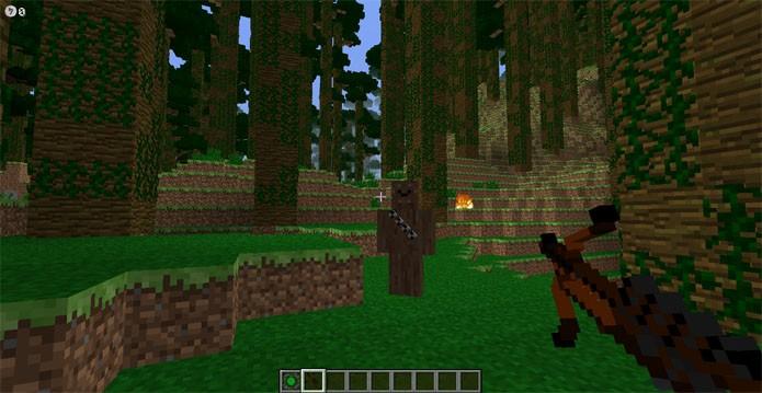 Encontre Wookies no mod de Star Wars para Minecraft (Foto: Divulgação/Parzivail)