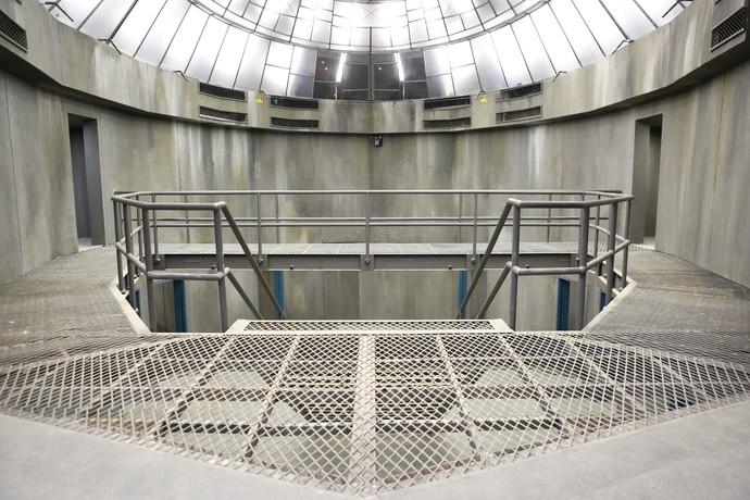 Segundo piso da prisão (Foto: Gshow/Ellen Soares)