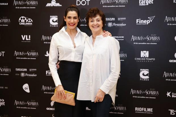 Virginia Cavendish e Ana Lúcia Torre (Foto: Manuela Scarpa/Brazil News)
