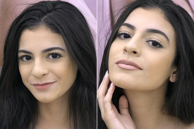 Veja como aumentar a boca usando só maquiagem e garantir visual Anitta (Foto: Jessica Monstans / EGO)