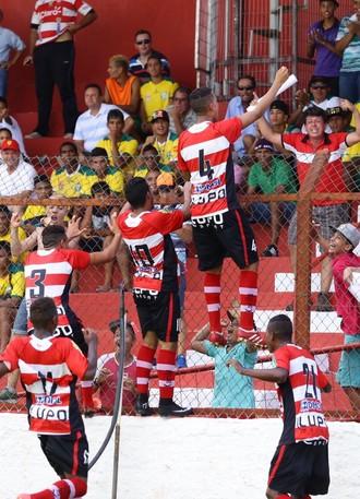 Linense x Santos, Copa SP 2015 (Foto: J. Serafim)