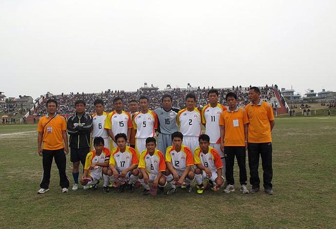 seleção do Butão (Foto: Reprodução / Facebook)