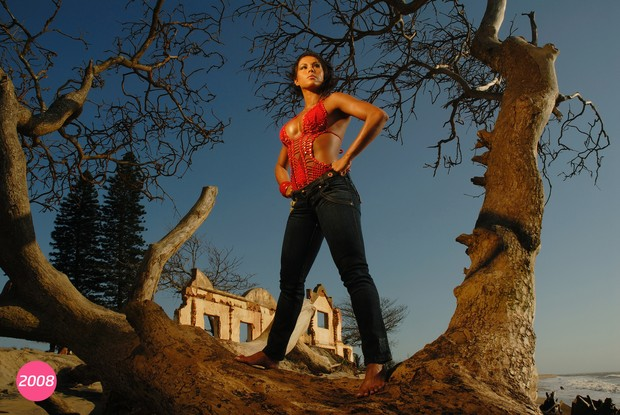 Gracyanne Barbosa em foto de 2008 (Foto: R2assessoria / Divulgação)