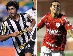Montagem, Bruno Mendes e Bruno Mineiro (Foto: Editoria de Arte / Globoesporte.com)