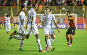 Analistas discordam de reclamação do Vitória sobre segundo gol do Santos