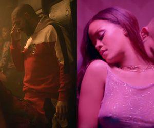 """Rihanna e Drake protagonizam cenas quentíssimas no clipe de """"Work"""""""