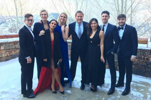 Reencontro do elenco de 'Glee' (Foto: Reprodução Instagram)