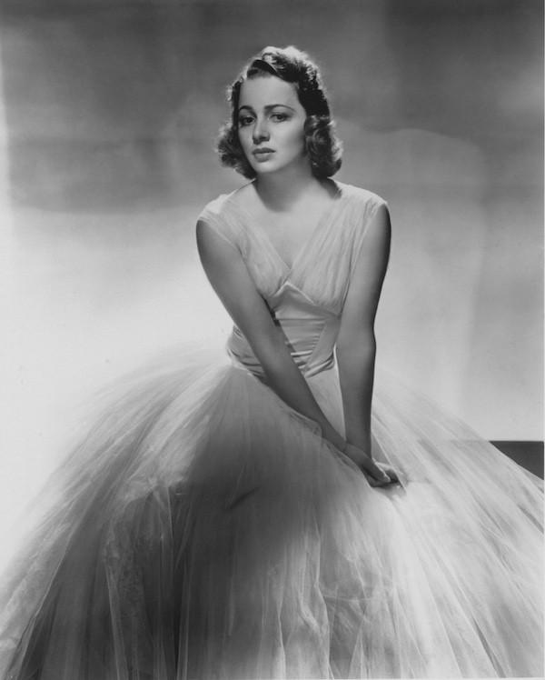 A atriz Olivia De Havilland (Foto: Getty Images)