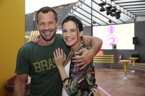 Malvino Salvador e a mulher, Kyra Gracie (Foto: Felipe Panfili/Divulgação)