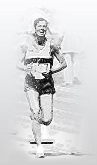 Eleonora Mendonça maratonista eu atleta corrida (Foto: Infografia/Globoesporte.com)