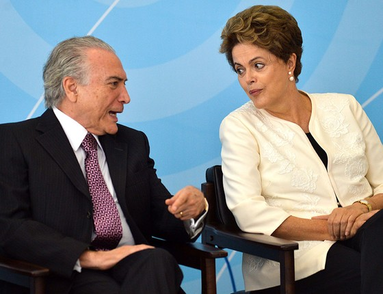 Michel Temer e Dilma (Foto: José Cruz/Agência Brasil)